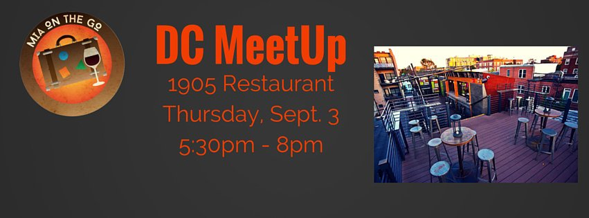 1905 Restaurant DC Meetup