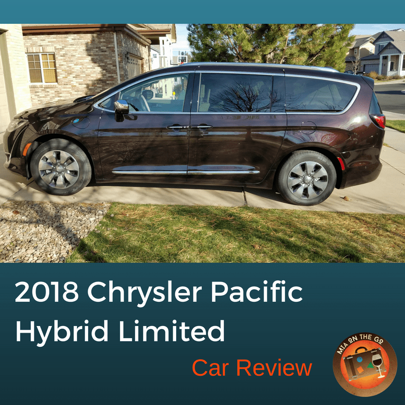 2018 Chrysler Pacific Hybrid Limited